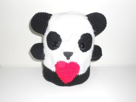 Lovely Panda by Makyshandmade