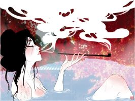 Oiran Spring by DestructorCAT