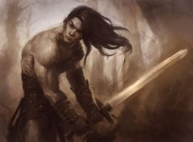 The Barbarian by XiaMan