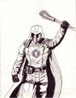 cobra commander by hanbarvelcom
