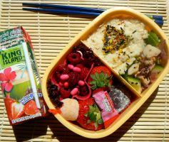 Pink Bento by chaosqueen122