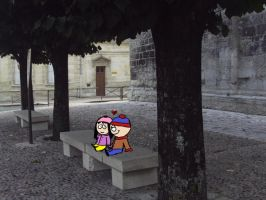 Stan and Wendy in Perrigueux by Inunobaka