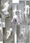 Paper sculpture by Exaxuxer