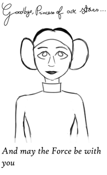 Princess Leia, Legend of the galaxy by AF20cartoons