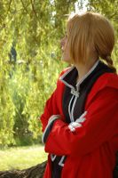 Ed Elric: Looking Ahead by SakiRee