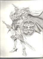 White Knight, modified version by 1Anubis-Hunter1