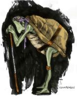 Donatello of TMNT by Sara Pichelli by AshcanAllstars
