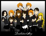 Dumbledores Army - Flat Colour by grombolia