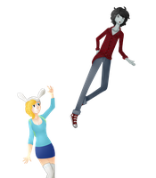 Marshall Lee and Fionna by Get-fancy