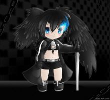 Chibi Black Rock Shooter by Neon-Juma