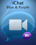 iChat Blue and Purple by FourTwoNineZero
