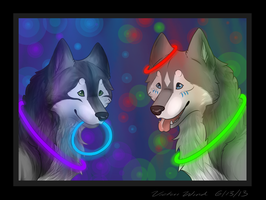 .: Glowing :. by VictoriWind
