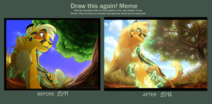 Draw This Again: Spark of Courage by Nightrizer