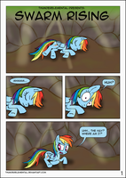 Swarm Rising page 01 by ThunderElemental