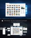 V4 Windows 10 Explorer Concept - Re-Imagined by dAKirby309