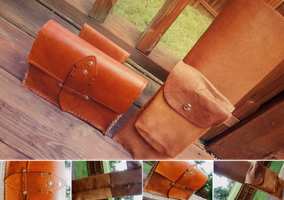 Leather Work: Quiver and Pouch by gpfunk