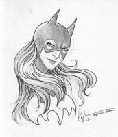 COMMISSION: Stephanie Brown by silvertales