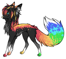 Trade: Sparkle Dog by Woods-Of-Lynn