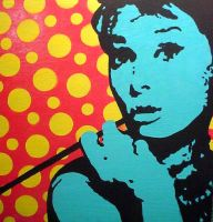 April fools Audrey Hepburn by chrispjones