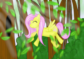 A Fly In The Forest by FeatherShine
