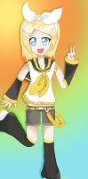 Rin Kagamine-Redraw by Rin-luver