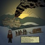 The Cremation of Sam McGee 12 by longlivethecaptain