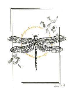 Inktober 25: Lesson in Entomology by LucieOn