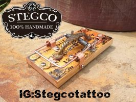 Ouija Board tattoo Foot Switch by Stegco