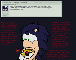Ask psycho Sonic question 18 by AskPsycho-Sonic