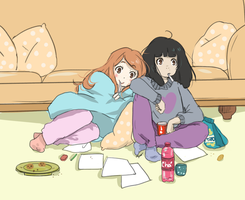 Friends by ClaraAzuos