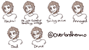 The Many Faces of Harold by ChibiForte101