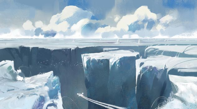 Glacier by Orelf