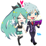 C:AUDREY AND STEVEN STONE by 99RIKA