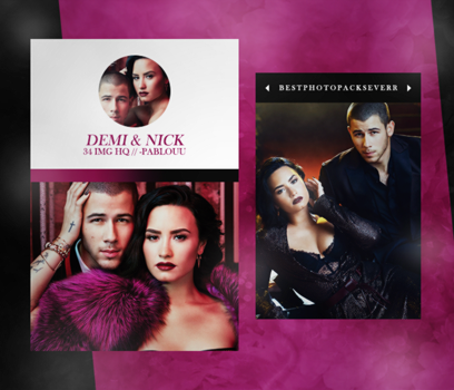 Photopack 15376 - Demi Lovato And Nick Jonas. by xbestphotopackseverr