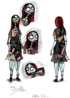 Sally reference by Lily-pily