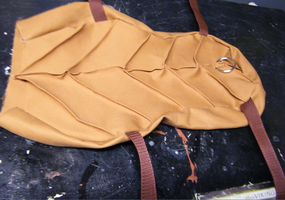 Toothless's Saddle WIP by Tsukune