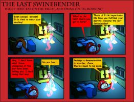 The Last SwineBender issue 1 by TravestyYM