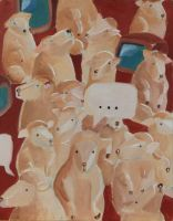 sheep by gardenhoes