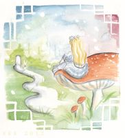 Dreaming of Wonderland by alice-time