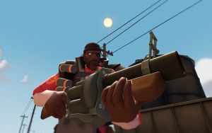 Team Fortress 2 Backgrounds - Demoman by AmberReaper