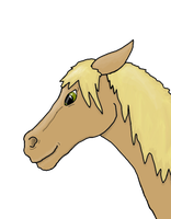 first horse iv drawin in a LONG while by Fourdd