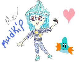 Me with Mudkip appeal. by AllstarMS
