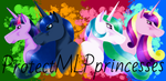 ~Group Pic For ProtectMLPprincesses~ by zeepaarden