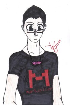 Markiplier Fan art by Hollyleaf12
