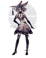 [CLOSED] set price - Wind Chime Demon - rare by Polis-adopts