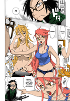 Highschool of the dead Colored by Mirmidon94