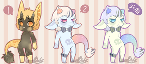 Candy Cutie Adopts (Closed) by LizardBat