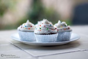 Polka Dot Cupcakes by MichelleRamey
