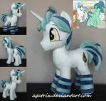 OC Snap Feather plush by agatrix