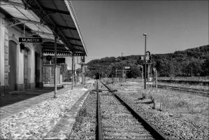 old and new Munster station by Markotxe